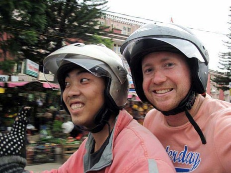 Doing an Easy Rider tour through Vietnam. Motorbike travel through Vietnam isn't always relaxing, but my guided trip ...