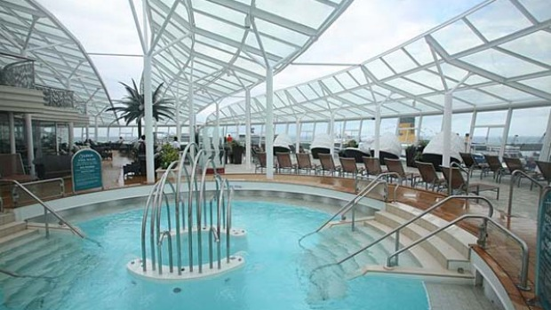 Allure of the Seas has 21 pools and hot tubs.