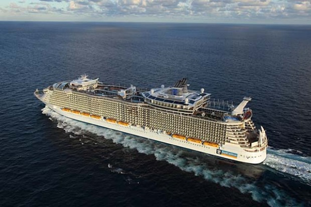 The size of the Allure of the Seas has unexpected advantages.