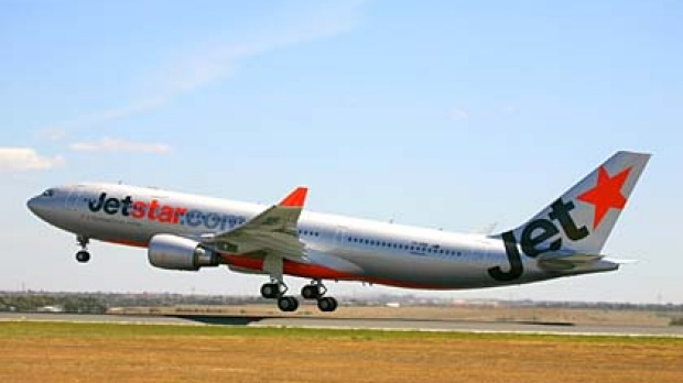 Taking off ... Jetstar will base two A330 aircraft in Singapore.