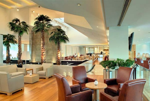 The Qatar Airways Premium Terminal at Doha International Airport is more like a five-star hotel than a holding pen.