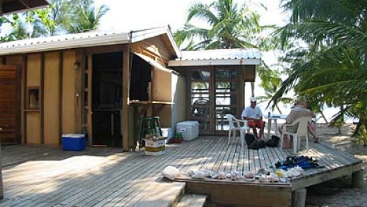 The island can be rented from just $100, making it cheaper than a hotel room.