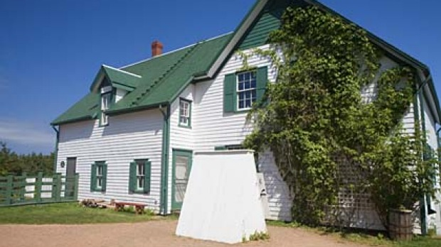 Anne land ... the Green Gables House on Prince Edward Island.