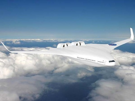 The Hybrid Wing Body H-Series design by the Massachusetts Institute of Technology. Hybrid Wing Body H-Series future ...