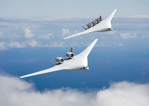 NASA has given a sneak peek of designs three companies are pursuing for the aircraft of 2025. Boeing's designs have a ...