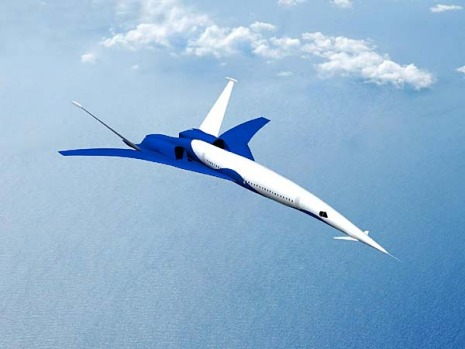 Boeing's Icon-II design concept for supersonic flight achieves sonic boom noise levels that will meet the target level ...