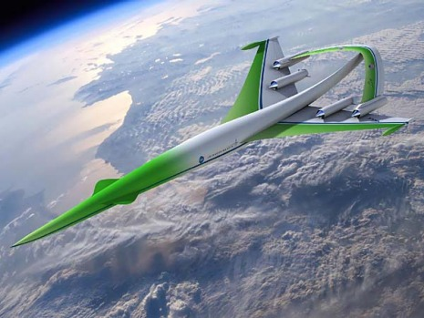 Lockheed Martin's design used simulation tools to show it was possible to achieve over-land flight by dramatically ...
