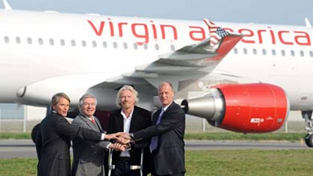 Virgin America this week ordered 60 Airbus A320s including 30 A320 NEOs.
