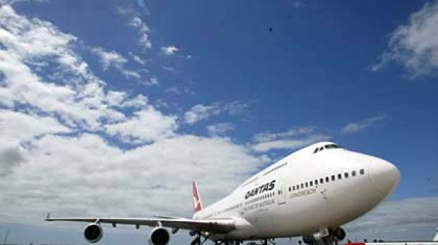 At a stretch ... Qantas is tackling the 13,804-kilometre route from Sydney to Dallas.