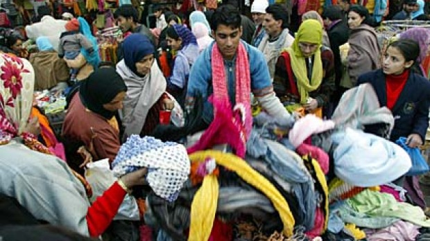 Kashmir is known for its shopping.