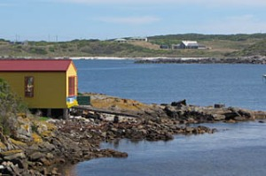 the Boathouse is a local favourite, King Island