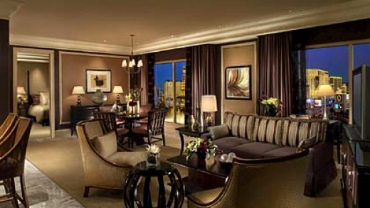 Matter of opinion ... the Bellagio in Las Vegas has the most reviews on TripAdvisor.