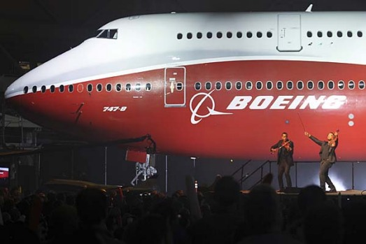 It is the first appearance of a radically new version of the passenger jet since the first jumbo, with its humped ...