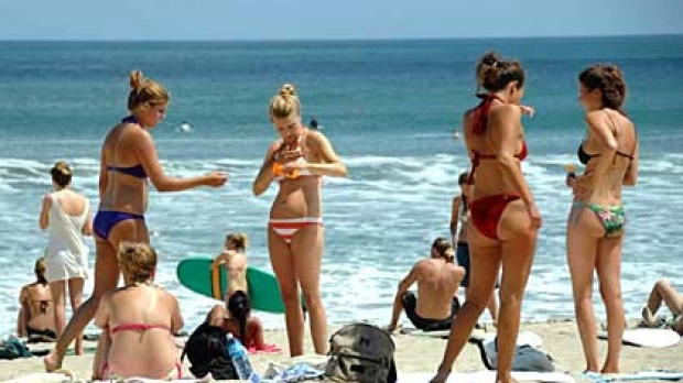 This year about 600,000 Australians - the largest group of visitors on the island by nationality - are heading to Bali.