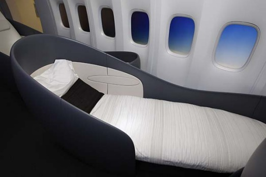 The 747-8 Intercontinental will seat 467 passengers, 51 more than the current version of the 747, and burn less fuel ...