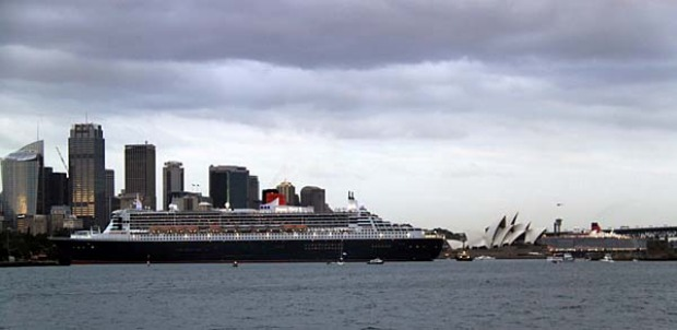 smh.com.au reader Amnon Carmel took an early ferry from Manly to snap these photos of the ships.
