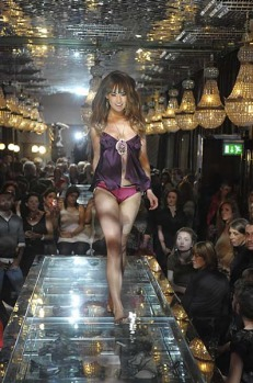 The Corinthian Club has become a popular venue for fashion shows.