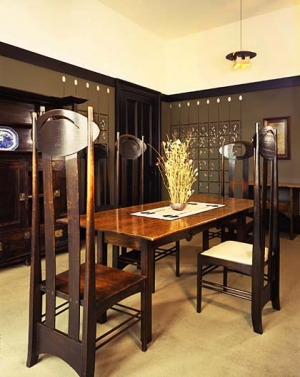 Grand designs ... Mackintosh House.