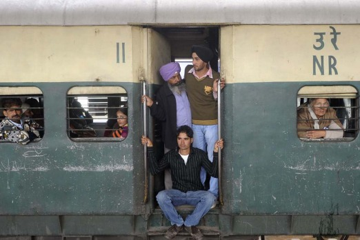 People say the journey is more important than the destination. They were talking about Indian trains.