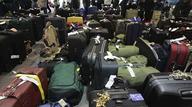 Oh baggage, where art thou? Most lost bags turn up within 48 hours.