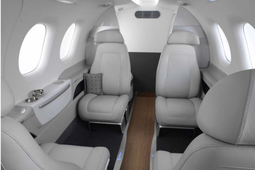 The Phenom 100 might be the tiddler of the range but it?s anything but meagre. Inside, you could mistake it for a luxury ...