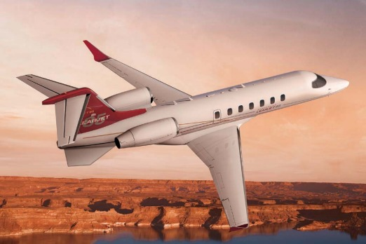 The Learjet 85, to be released in 2013, will be the first wholly-composite executive jet, made of advanced carbon fibre ...