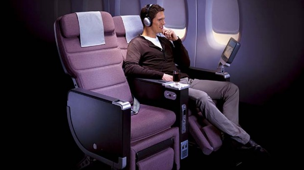 Premium economy has replaced business class for many corporate travellers.