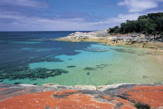 Trousers Point, Tasmania. Strange name, but it is one of the most beautiful beaches in Australia.