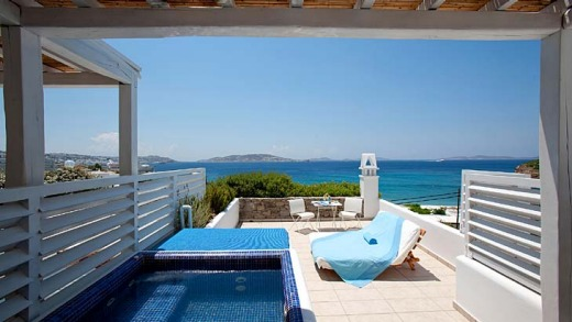 15. Mykonos Grace Hotel, Mykonos, Greece This chic little hotel is in a great setting, just outside Mykonos town, with ...
