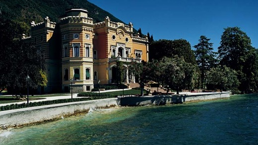 47. Villa Feltrinelli, Lake Garda, Italy. Charming 19th-century Italian villa with 13 rooms in the main house and seven ...
