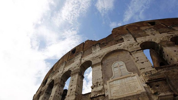 Iconic ... Rome's Colosseum.