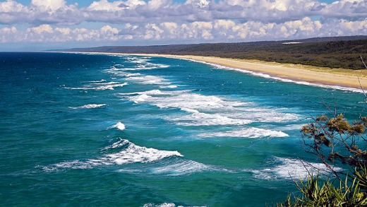 Stradbroke's Main Beach.