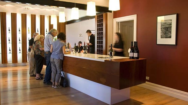 Helping hand ... visitors are happy with a tasting fee for charity at Two Hands Wines.