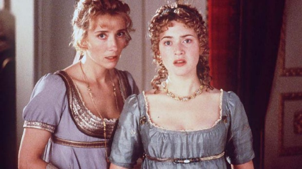 Emma Thompson and Kate Winslet in the 1995 Sense and Sensibility.