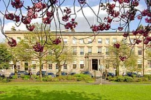 Great Scot ... Blythswood Square's historic exterior.