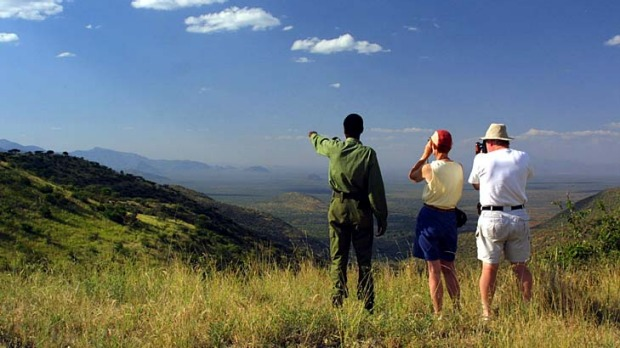 Mating grounds ... Lewa Wildlife Conservancy covers 26,000 hectares.