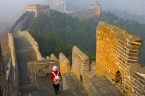 Marvellous ... the Great Wall of China.