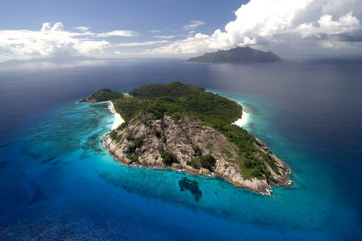 Pure luxury ... the North Island resort in the Seychelles, an archipelago in the Indian Ocean.