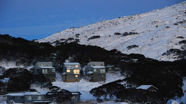 Snow has already blanketed Perisher.