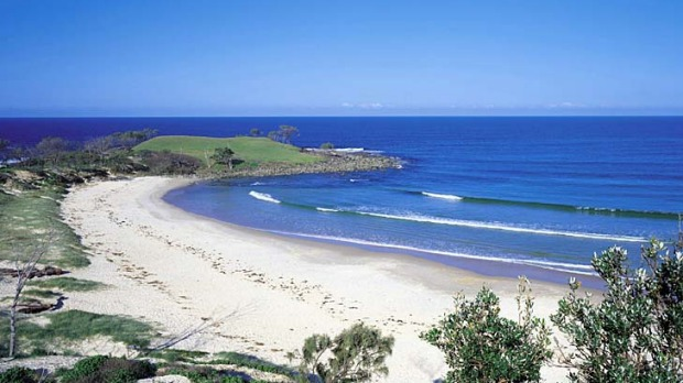 Angourie Point, near Yamba, has the surf without the crowds.