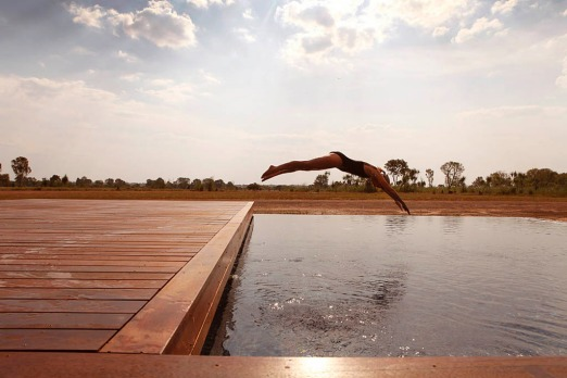Wildman Wilderness Lodge, 170 kilometres from Darwin provides a collection of luxury African-style tenst and cabins on ...