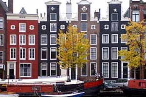 """Prettier than Paris"" ... the UNESCO World Heritage-listed canal belt of Amsterdam."