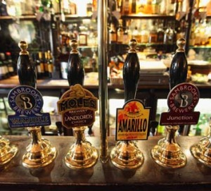 Ales at The Harp.