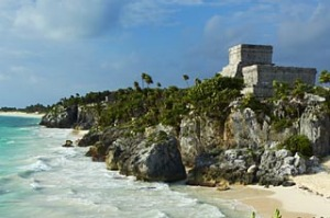 Ancient Maya site of Tulum.