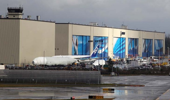 Boeing's Everett factory is the world's largest building by volume.