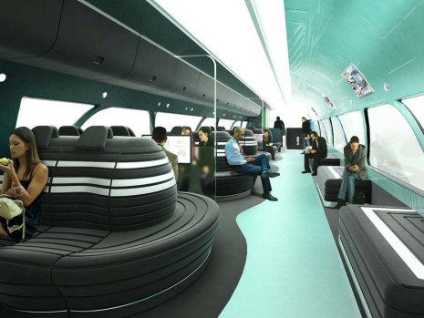 Vision of australia 39 s future 400km h trains for Interior design agency sydney