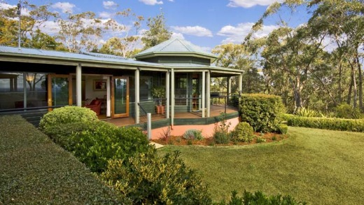 Peaceful view ... the gorgeous surrounds of Boronia Cottage.