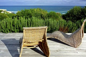 Just chill ... Neervana Haven has sparkling ocean views;