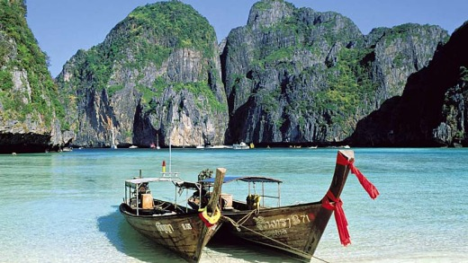 The film is not all about rolling around in the gutter - it also features scenes in the stunning seaside setting of Krabi on Thailand's Andaman Coast.