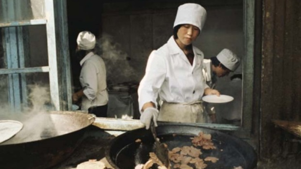 Beijing ... the crispy skin of peking duck is apparently its biggest drawcard.